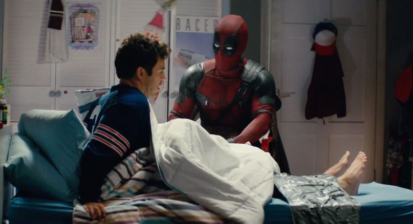 Deadpool kidnaps Fred Savage in trailer for PG-13 cut Once