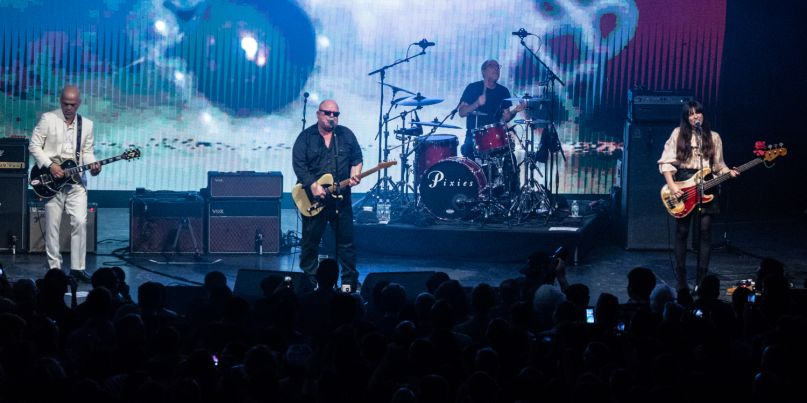 Live Review Pixies Celebrate Come On Pilgrim And Surfer