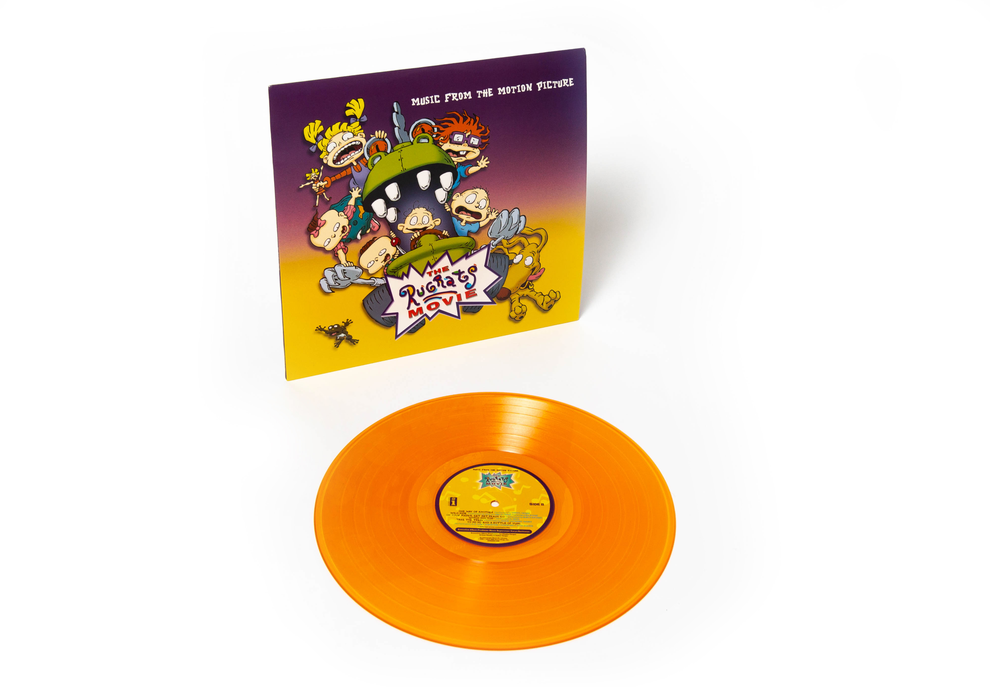 rugrats movie vinyl music release