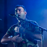 Sufjan Stevens photo by Philip Cosores Lonely Man Of Winter Benefit Single