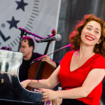 "Regina Spektor photo by Ben Kaye ""Birdsong"" The Romanoffs"
