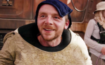 Simon Pegg in The Force Awakens