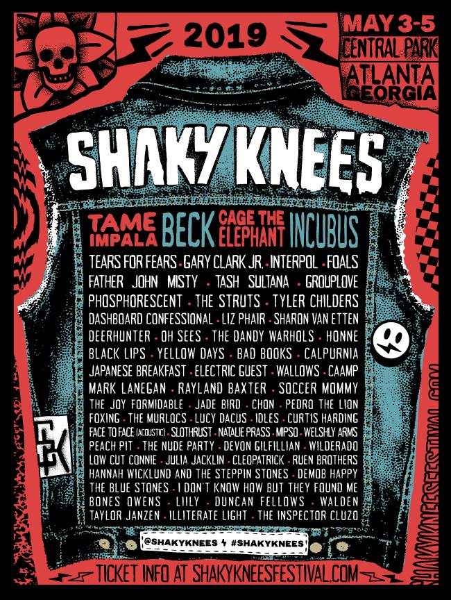 Shaky Knees 2019 lineup