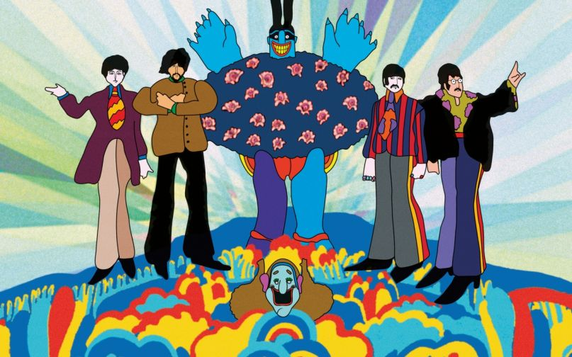 Classic Film Review: Yellow Submarine Created a Style of Its
