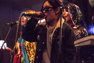 Superorganism at Iceland Airwaves, photo by Lior Phillips