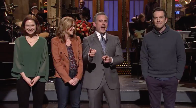 The Office reunion on SNL