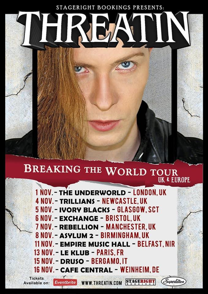 Threatin Tour Poster