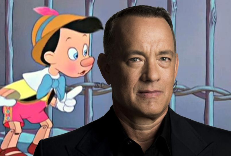 Tom Hanks Geppetto live action Pinocchio