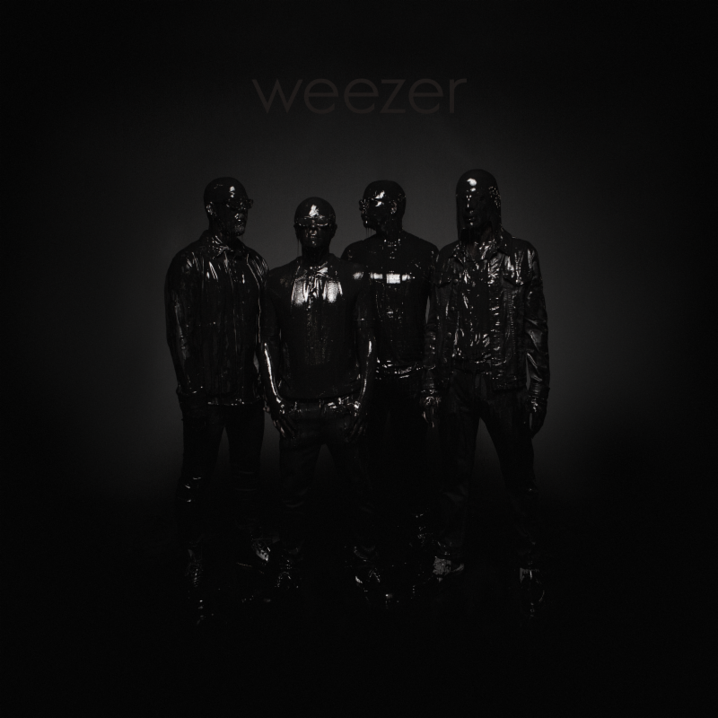 Weezer Black Album cover artwork