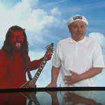 Dave Grohl Devil Billy Crystal Angel Jimmy Crystal Live