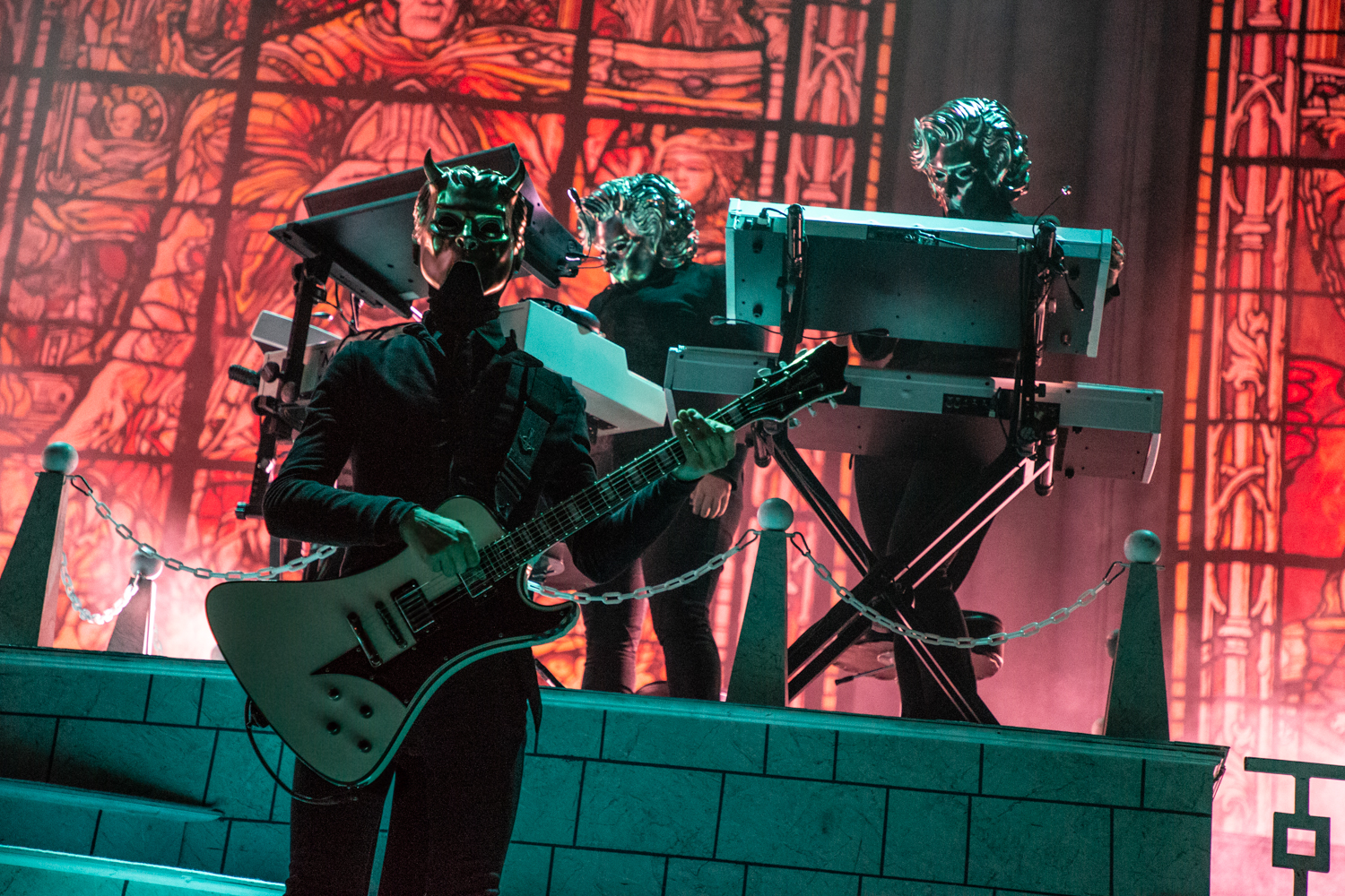 Ghost Barclays Center 2018 10 Live Review: Ghost Turn Brooklyns Barclays Center Into a House of Worship (12/15)