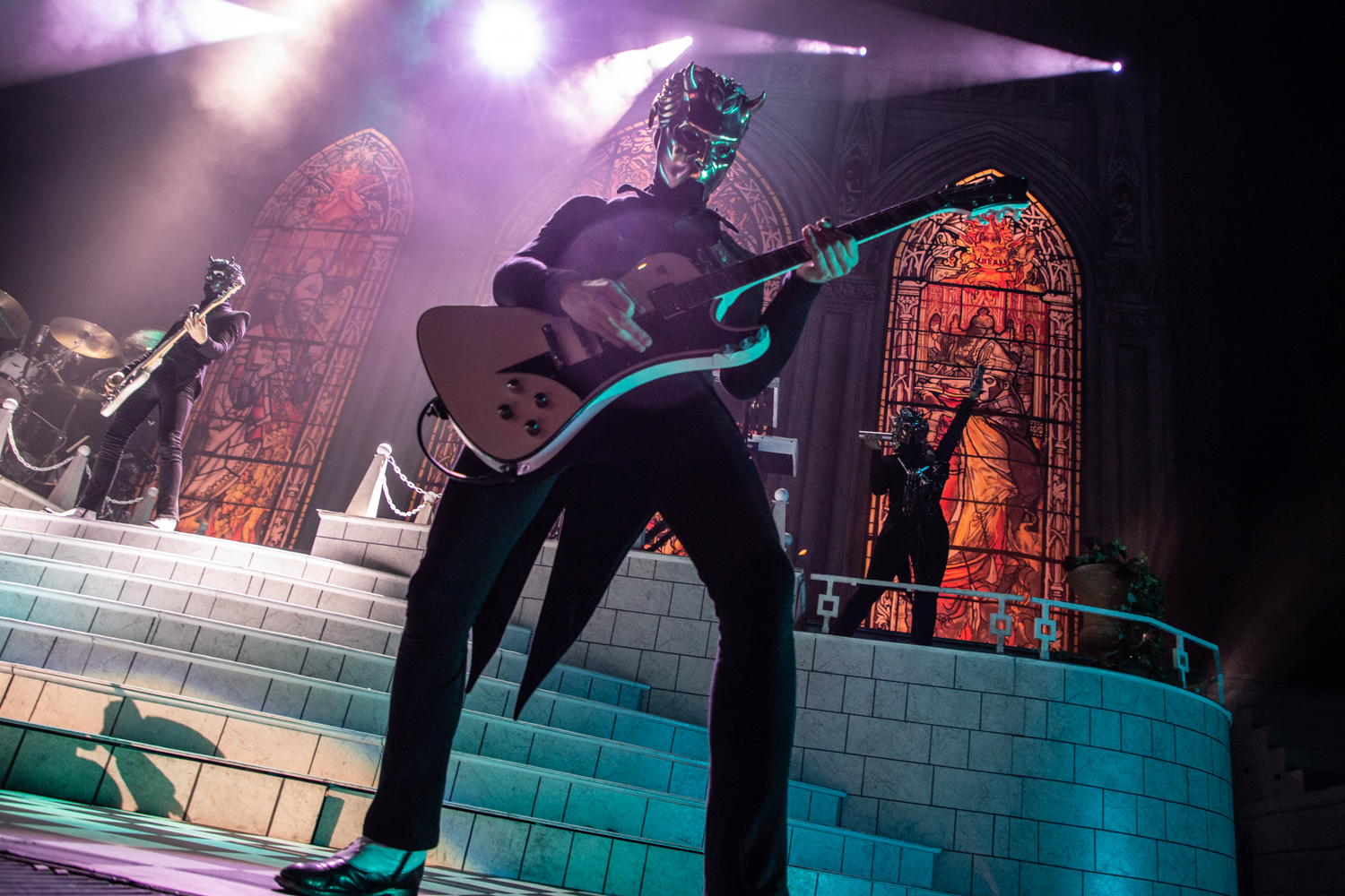 Ghost Barclays Center 2018 14 Live Review: Ghost Turn Brooklyns Barclays Center Into a House of Worship (12/15)
