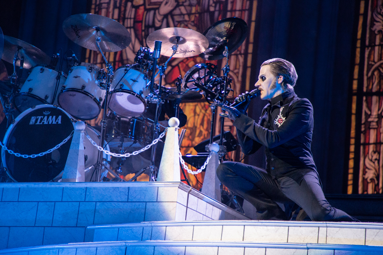 Ghost Barclays Center 2018 15 Live Review: Ghost Turn Brooklyns Barclays Center Into a House of Worship (12/15)
