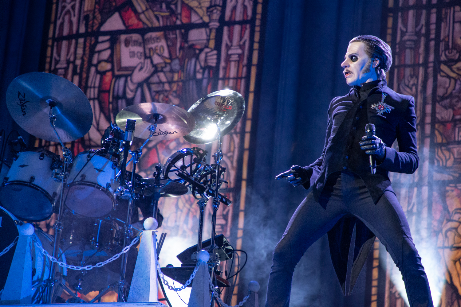 Ghost Barclays Center 2018 9 Live Review: Ghost Turn Brooklyns Barclays Center Into a House of Worship (12/15)