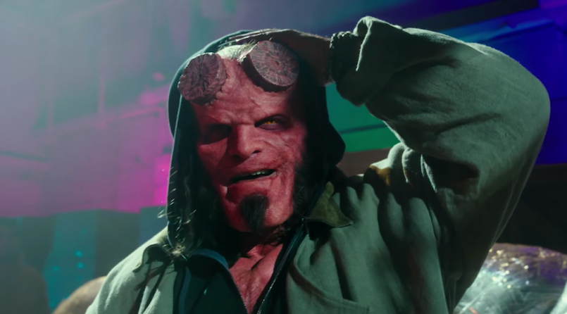 Hellboy the blood queen david harbour trailer watch