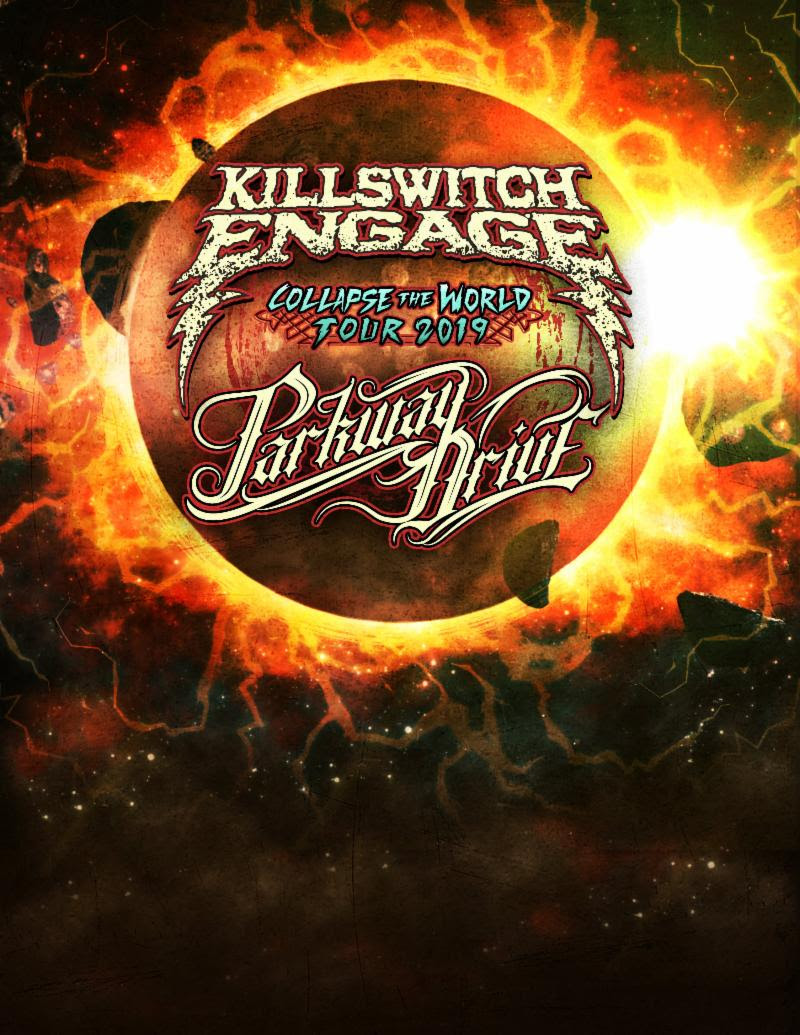 Killswitch Engage Parkway Drive Tour Poster