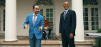 Lin Manuel-Miranda and Barack Obama