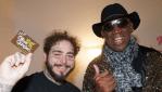 Post Malone and Dennis Rodman, photo by Adam DeGross