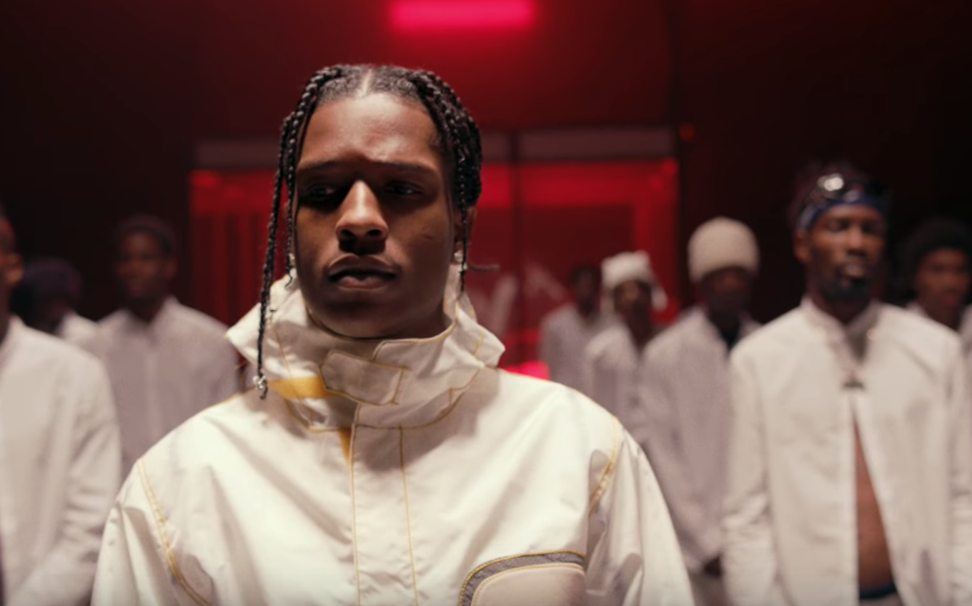 """ASAP Rocky yearns for youth in video for """"Tony Tone ..."""