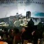 Seventeen performing as tsunami hits