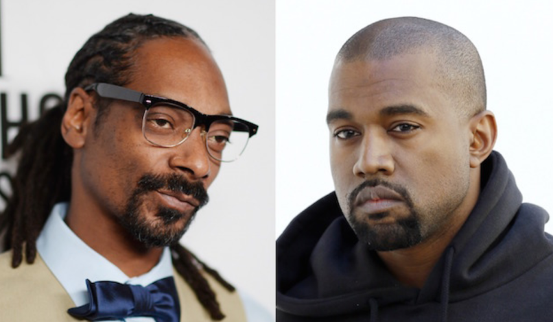 Snoop Dogg and Kanye West