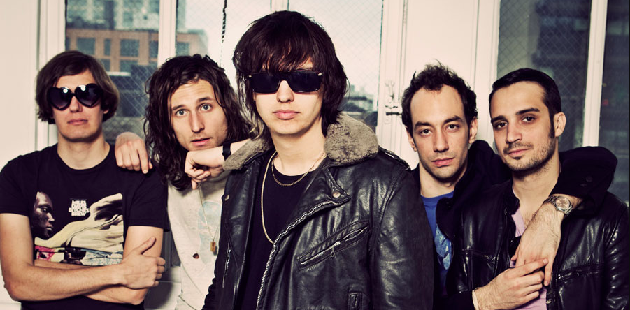 The Strokes' new album is finished and currently being mixed