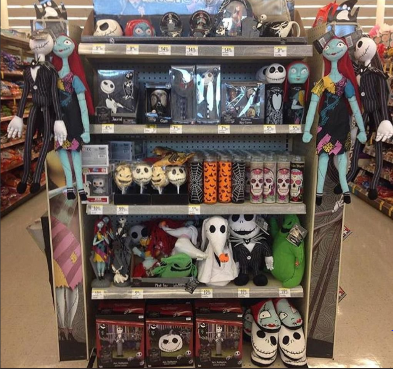 Walgreen's The Nightmare Before Christmas display, photo by Cyanide_Kat