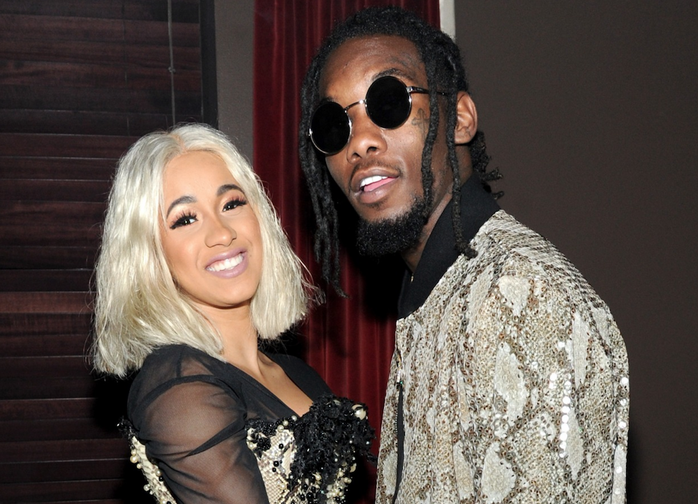 "Is Cardi B S Offset Name Tattoo Real The Ink Is A Giant: Cardi B Changes ""Motorsport"" Lyrics To Throw Shade At"