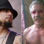 Dave Navarro and Geraldo Rivera