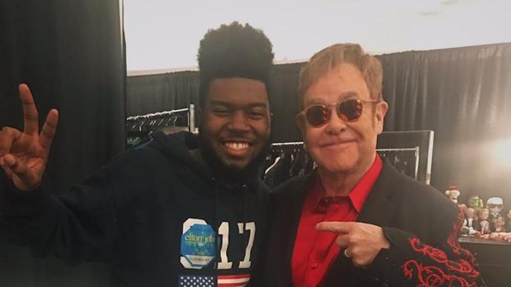 Elton covers Khalid