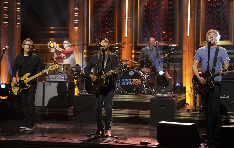 Watch video Hootie and the Blowfish on The Tonight Show
