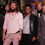 Jason Momoa, Leslie Jones, and Mumford & Sons (NBC)