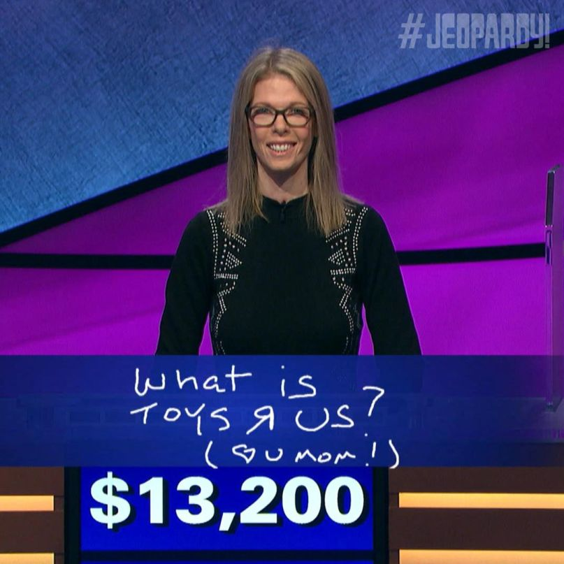 The Runaways' Jackie Fuchs is killing it on Jeopardy