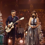 "Watch video She & Him ""The Christmas Song"" on James Corden"