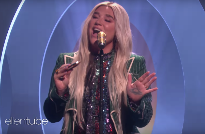 "Watch Kesha ""Here Comes the Change"" Ellen"