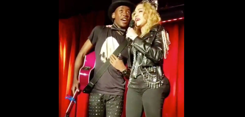 madonna rings in 2019 with surprise appearance at stonewall inn watch consequence of sound madonna rings in 2019 with surprise