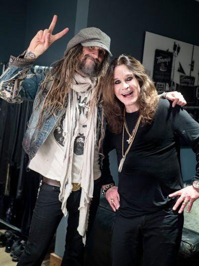 Rob Zombie and Ozzy Osbourne