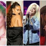 Grimes, Rihanna, Sky Ferreira, Ariana Grande