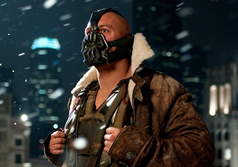 bane Bloxvox gadget mutes voice so you can make phone calls in public, look like Bane