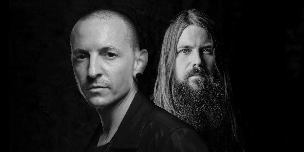 Chester Bennington and Mark Morton