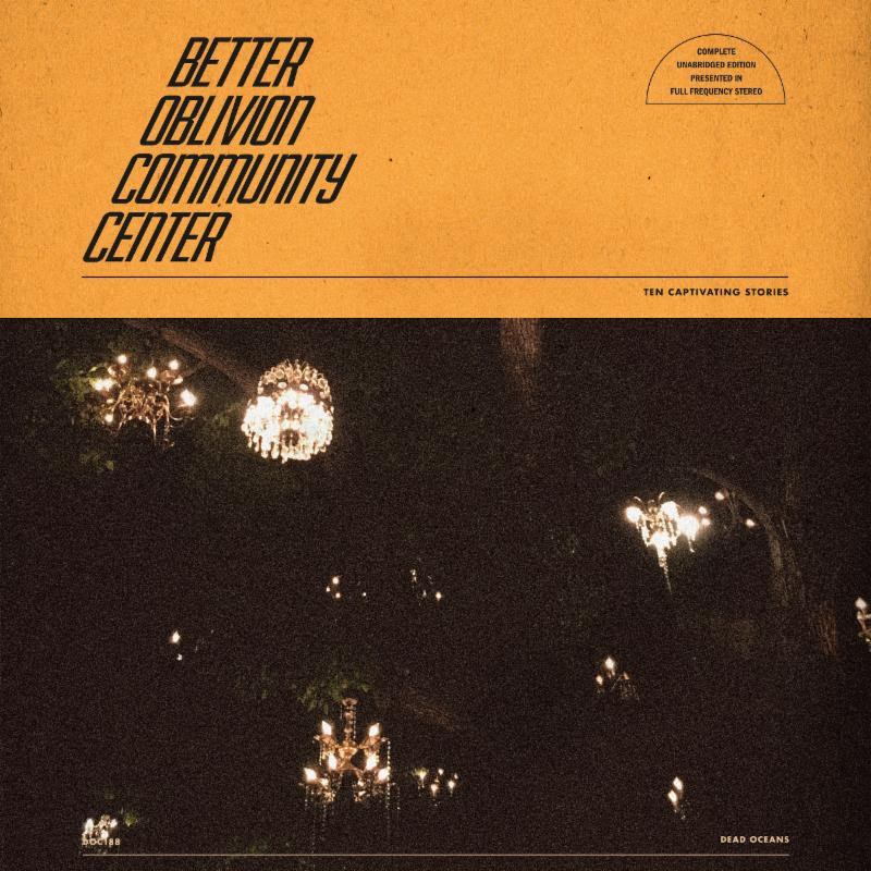 Better Oblivion Community Center album new music Conor Oberst Phoebe Bridgers artwork