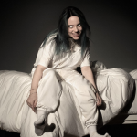 Billie Eilish album cover artwork for When We All Fall Asleep, Where Do We Go?