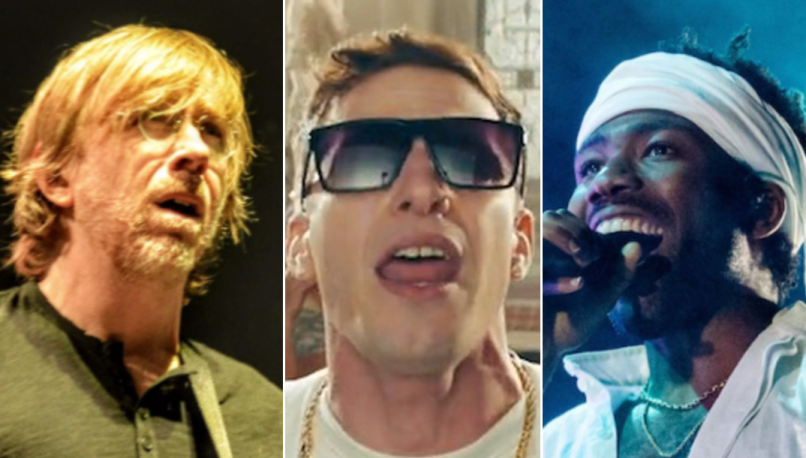 Phish (Wesley Hodges), The Lonely Island, Childish Gambino (Philip Cosores)