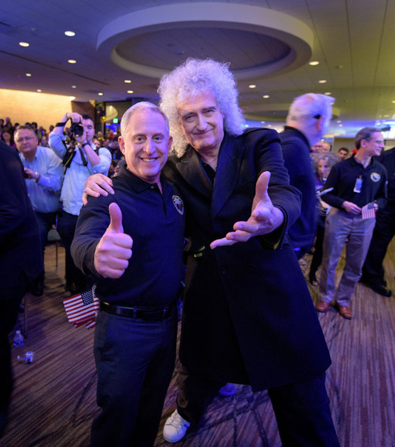 Queens Brian May celebrates landmark NASA mission with new song New Horizons: Stream