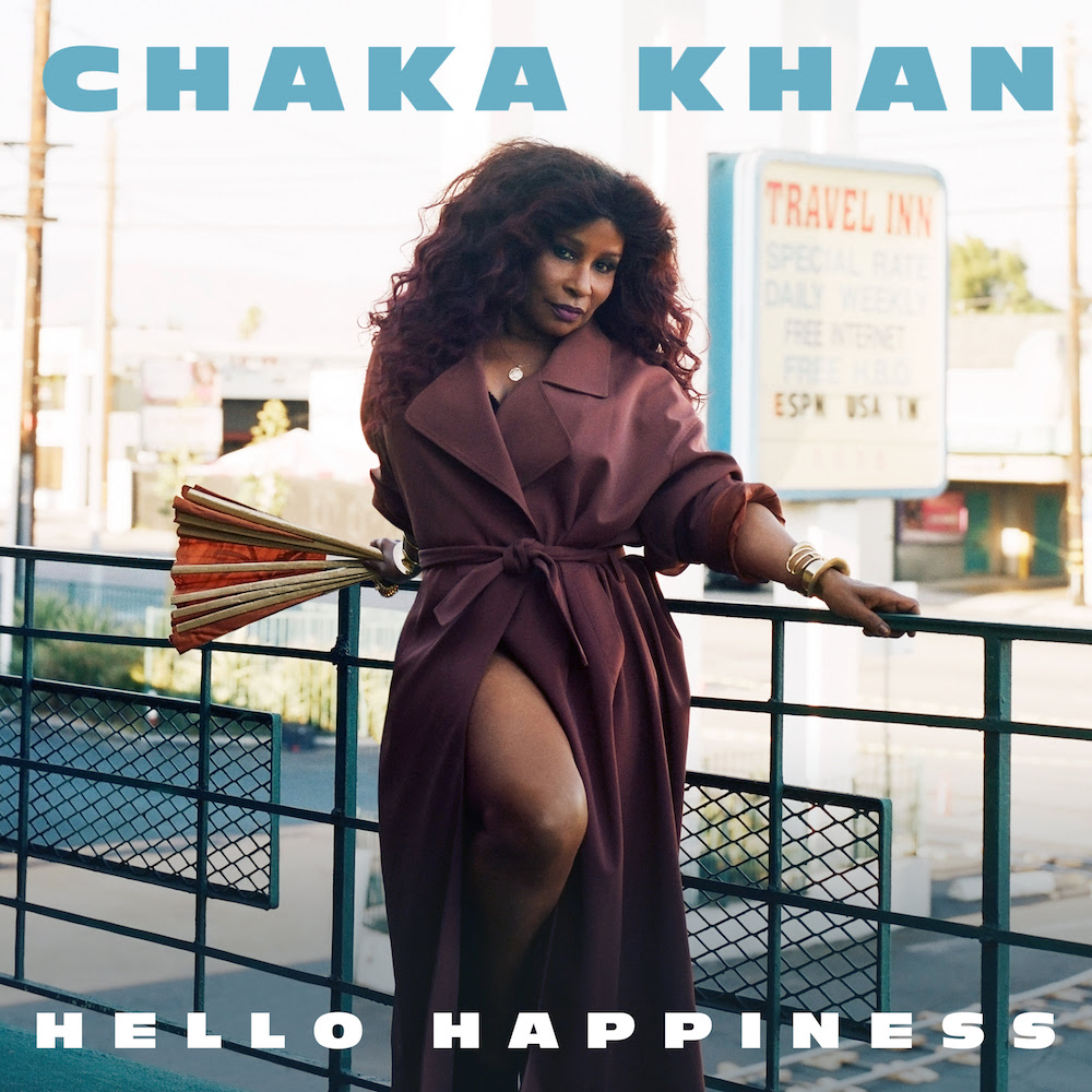 chaka khan hello happiness new album, title track