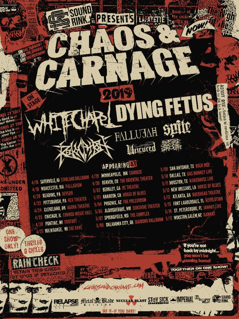 Chaos and Carnage