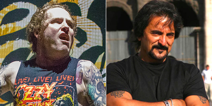 Corey Taylor and Tom Savini