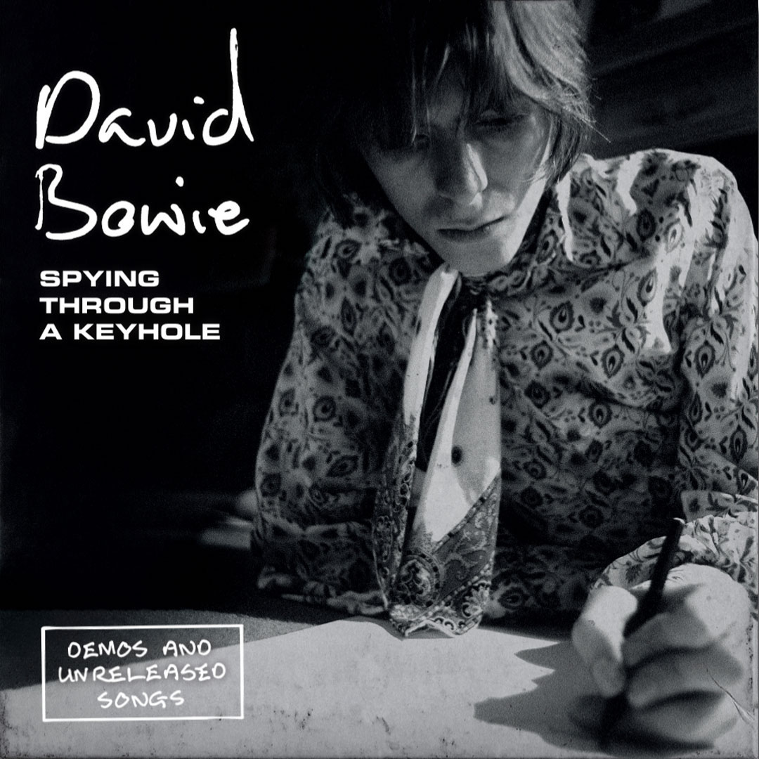 david bowie spying through a keyhole demos 7-inch box set cover artwork