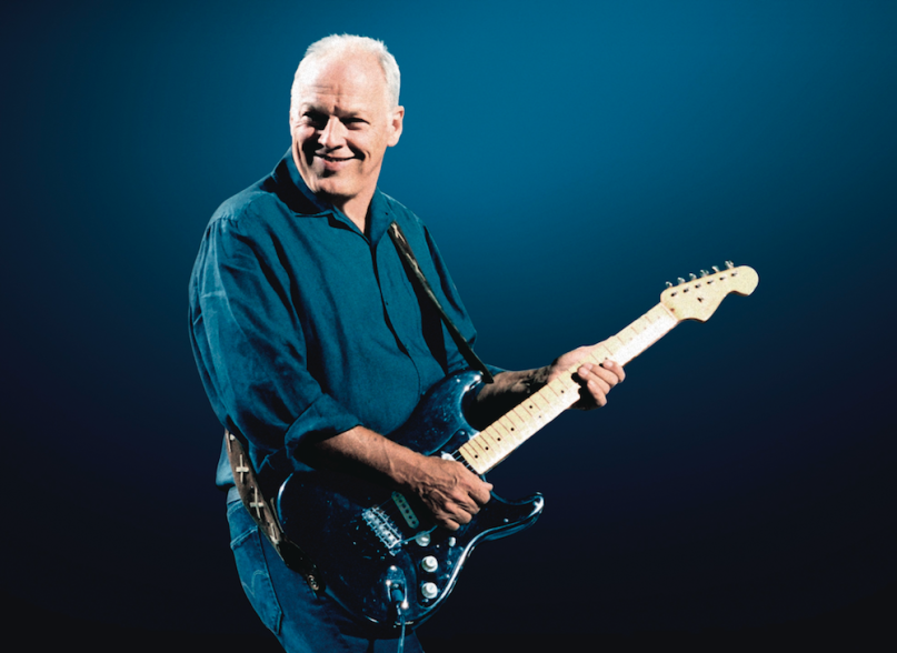 David Gilmour auctioning 120 guitars, including ones used on