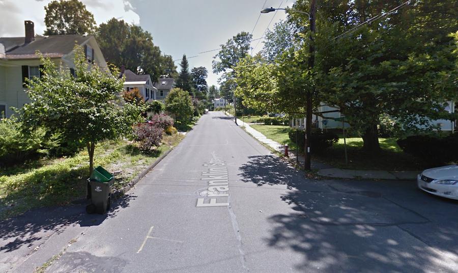 franklin street northampton massachusetts google earth
